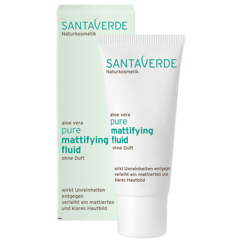 Santaverde Pure Mattifying Fluid ohne Duft 30 ml
